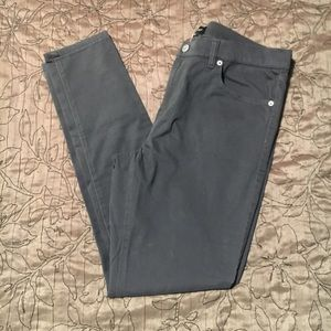 Gray Banana Republic Skinny Pants